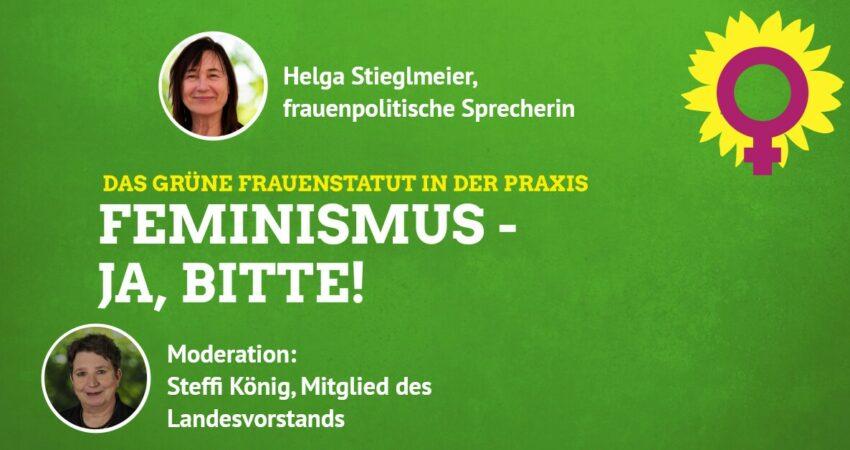 KV-Veranstaltungshinweis: Feminismus – ja, bitte!